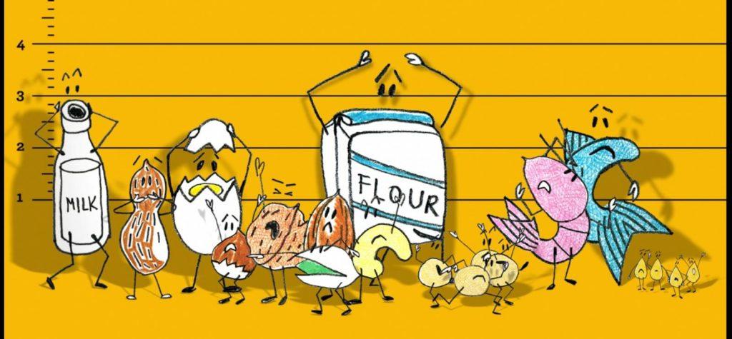 """حساسية الطعام """"أكثر 8 أنواع شائعة"""""""