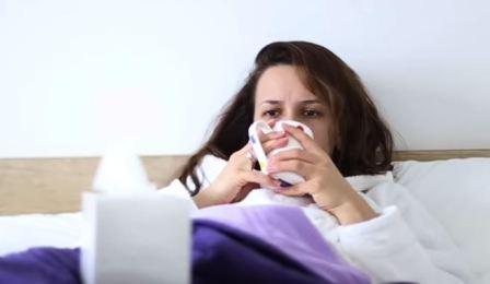 علاج الانفلونزا ونزلات البرد منزليا